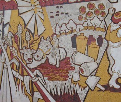 Sembradores de ilusiones, Arte Público en Sansinena