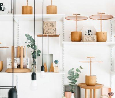 Pequeño estudio y tienda de diseño