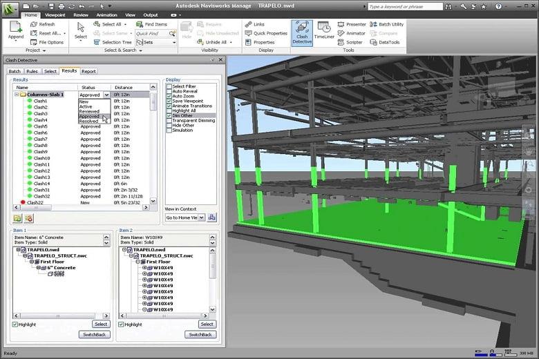 Autodesk Navisworks bloc
