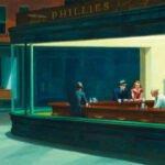Edward Hopper, Nighthawks, bloc tecnne