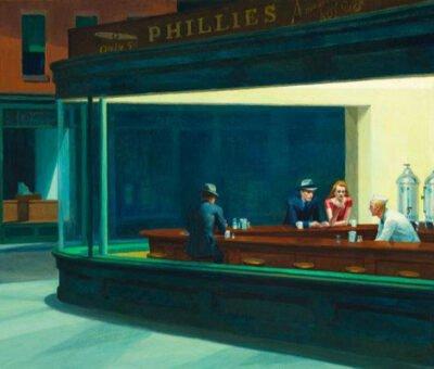 Hopper, halcones solitarios