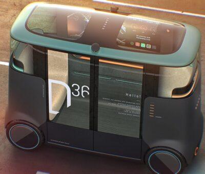 Vehículo de paso de red eléctrica autónoma